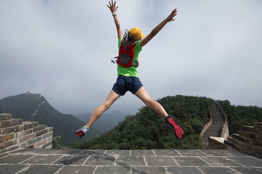 thankful runner (image credit 123rf.com)